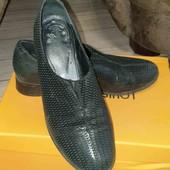 Туфли закрытые, натуральная кожа 37р
