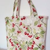 Вишенки! Красивая Оригинальная практичная сумка!