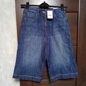 Фирменные новые красивые джинсовые шорты-кюлоты р.8-10 или на девочку 12 лет.