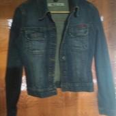 Джинсовая куртка, рост 152-170