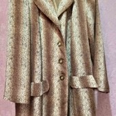 летний длинный пиджак на пышные формы