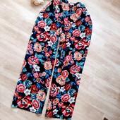 Цветочные штаники XL