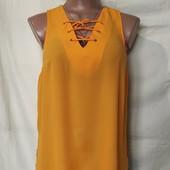 Блузочка со шнуровкой,F&F, грудь 82-86