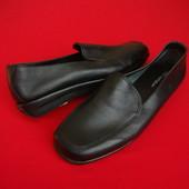 Туфли мокасины M&S Footglove натур кожа 36-37 размер