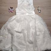 Польша! Нарядное платье для девочки, пышное платье! 128 рост! 1199 грн по ценнику