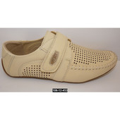 Идеальный вариант для тёплой погоды. Мокасины, туфли для мальчика, 36 размер, супинатор 36 (23.5 см)