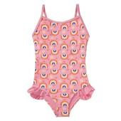 слитный купальник для девочки Lupilu 86-92 новый
