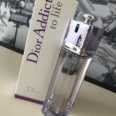 квітковий) дуже приємний) Christian Dior Addict To Life 100мл