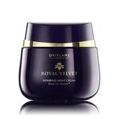 Подтягивающий ночной крем для лица королевский бархат royal velvet 22814 oriflame