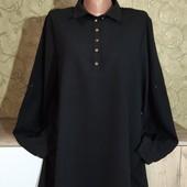 Собираем лоты!!! Женская блуза -рубашка, размер 16