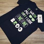 Польша! Cool club! Крутая футболка на мальчика размер 128 см рост