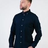 Стильная плотная хлопковая рубашка Livergy Германия размер L (41/42)