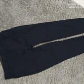 Люкс! Стильные темно синие штаники Zara р 46/48 оч.хорошего сост