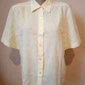 Рубашка лимонного кольору стан нової , 100% котон, 10% знижка на УП