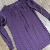 Удлиненная фирменная блуза- туника в отличном состоянии