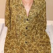 блуза батал, очень хорошего качества, 3хл, до 68 см ПОГ, ниже закупки! качество и размер супер!