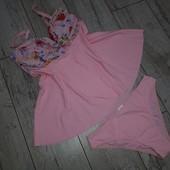 Нежно розовый танкини от Selfiego, L
