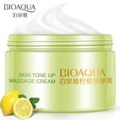 Крем для лица с экстрактом лимона массажный BioAqua Skin Tone - Оригинал