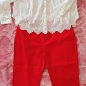 Блузка и брюки 52-54 р. В идеальном состоянии!