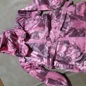 Куртка-плащ для малышки