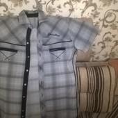 Стильные летние подростковые рубашки с коротким рукавом