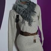 Новый свитер +снуд+ пояс