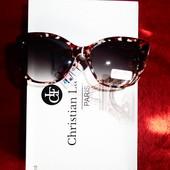 Солнцезащитные очки от Gabriella Marioni.100%протектор защиты. Леопардовая оправа.