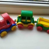 Машинки и поезд