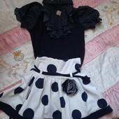 Костюм блузка +юбка рост 116-122! В идеале!