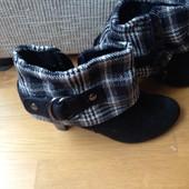 чорні з сірим туфли черевики ботинки туфлі ботильйони