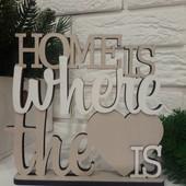 """статуэтка кремовая """" home is where the love is"""""""
