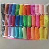 Легкий воздушный пластилин для лепки 36 цветов