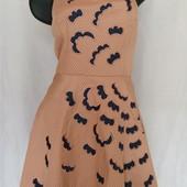 платье с апликацией + болеро
