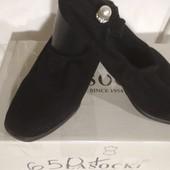 Туфли-перчатки. Искусственный замш
