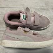 Замшевые кроссовки Puma оригинал 34 размер стелька 21 см