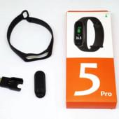 аналог Xiaomi Mi 5. замеряет температуру тела.Smart Band M5 Pro