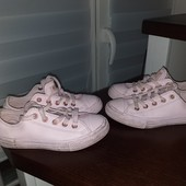 Converse Кеды на девочку 31 размер 19.5см стелька замеры на фот