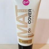 Матирующий тональный флюид Bell super mat cover make-up, 03 бежевый.
