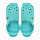 Женские кроксы Simple мятные. 23 см