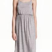 Длинное платье из трикотажа большого размера пог 60-65 см.