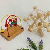 Деревянные игрушки одним лотом