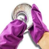 *Лот 2шт* Перчатки для полировки серебряных вещей от Tcm Tchibo, Германия