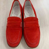 Стоп! Стильні яскраві макасіни-лофери Bata 37р.Стан нового взуття.