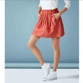 esmara.стильная юбка пол замшу L44/46+6замеры