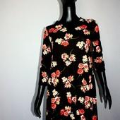Качество! Натуральное платье в цветочный принт от TU, в новом состоянии