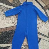 Флисовый комбез, поддева под термокостюмы, пижама 98