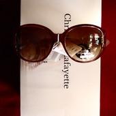 Интересные солнцезащитные очки, дужка с геометрией, UV 400
