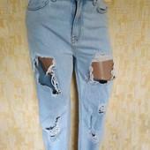 ❤️Стильные джинсы Mom с дырками❤️