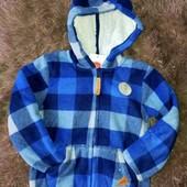Теплая кофта-куртка,для мальчика,флисовая курточка,116р,cool club