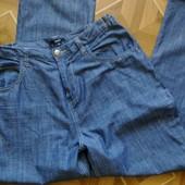 Тонкие джинсы - свободного кроя. Размер 14 (смотрите замеры)